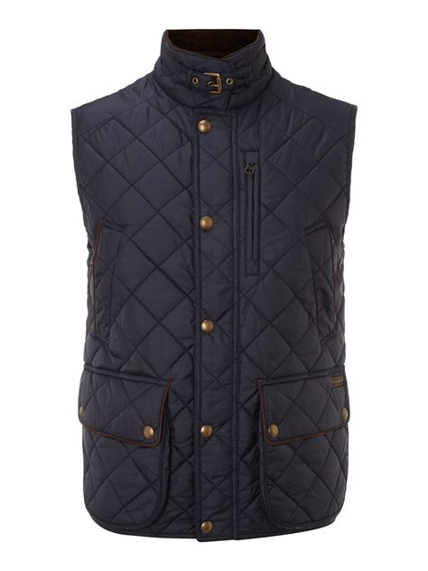 Quilted Vest by Polo Ralph Quilted Vest In Blue For Navy Lyst