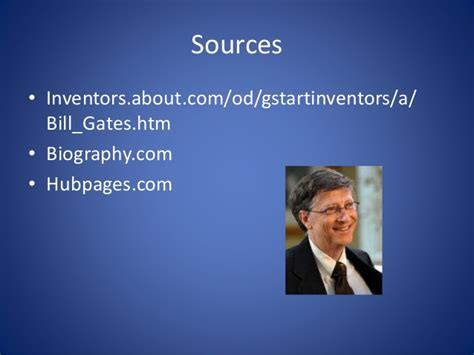 bill gates biography ppt free bill gates powerpoint
