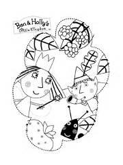 dibujos colorear ben holly juegos ben holly
