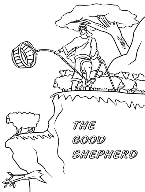 coloring pages jesus the good shepherd jesus the good shepherd coloring pages
