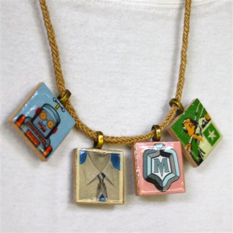 Scrabble Tile Pendants Nimmity