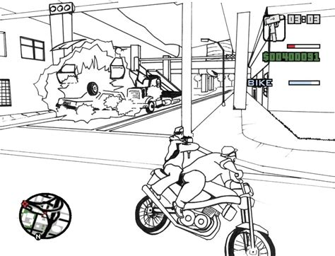 Grand Theft Auto V 5 Coloring Pages For Kids Free Gta 5 Coloring Pages