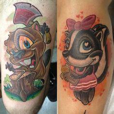 tattoo maker in vashi heart simpsons tattoo new school tattoo pinterest