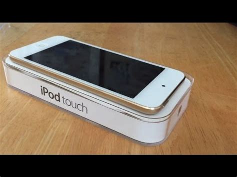 Ipod Touch 6 32 Gb Gold Garansi Resmi Apple unboxing of the new gold ipod touch 6th generation 32 gb model