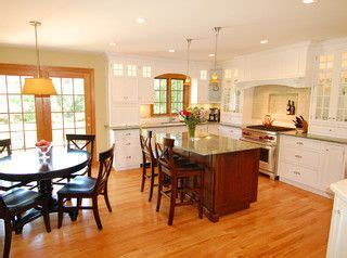 White Kitchen Cabinets With Oak Trim by Honey Oak With White Trim White Kitchen With Oak Trim