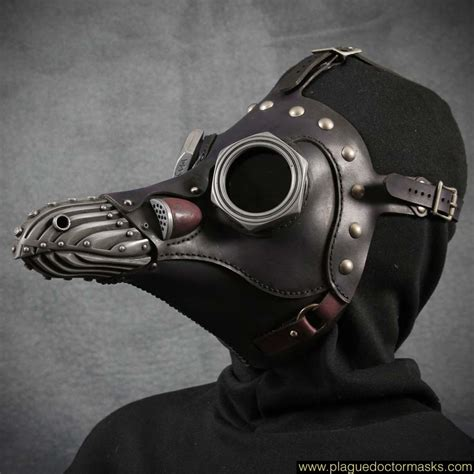 Masker Gas steunk gas mask plague doctor mask costume for sale