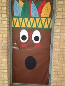 Classroom door decoration happy thanksgiving