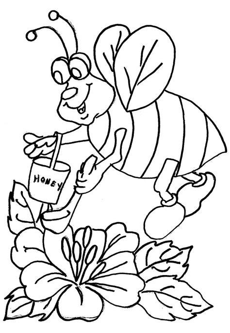 mewarnai gambar lebah maksumwidodo s