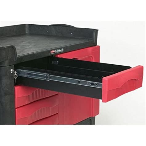 rubbermaid service cart with cabinet rubbermaid commercial products rubbermaid commercial