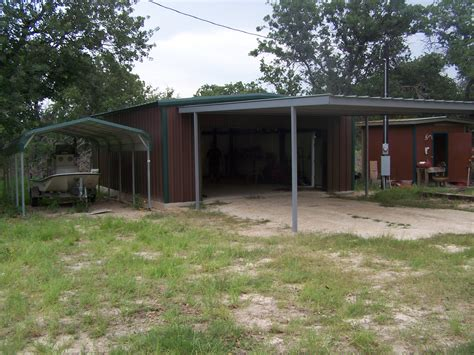 Attached Car Port by Attached Carport Wilson County Carport Patio Covers