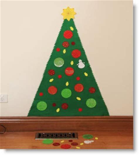 play felt christmas tree no sewing needed felting