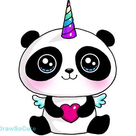 imagenes kawaii panda panda unicornio kawaii es tan adorable playa