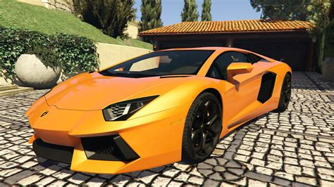 Gta 5 Lamborghini Aventador 2012 lamborghini aventador lp700 4 add on replace