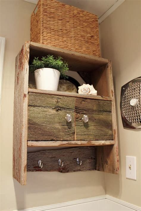 barnwood bathroom ideas barnwood bathroom cabinet