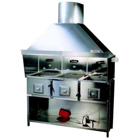 cucina vegetale cucina a carbone vegetale in acciaio inox n 176 3 fornelli
