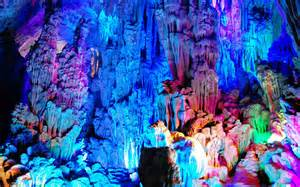 Reed Flute Cave China by There Is An Entire Different World Below Your Feet That