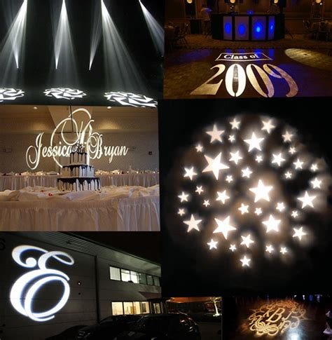 light projector lights gobo lights monogram light projector custom gobo design