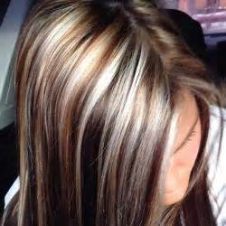 pictures of hair with lowlights 40 blonde and dark brown hair color ideas hairstyles