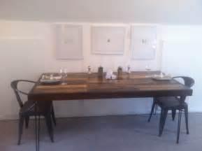 Diy Industrial Dining Room Table Diy Industrial Rustic Dining Table Loft On