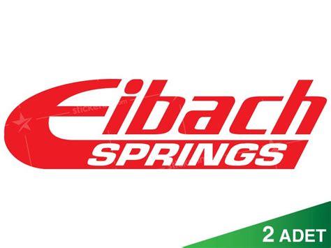 eibach springs oto sticker stickerimcom