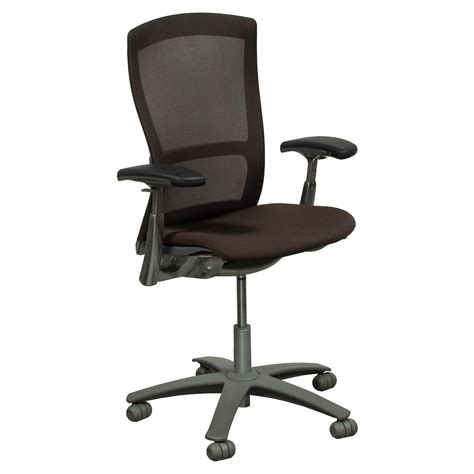 knoll used mesh back task chair brown national