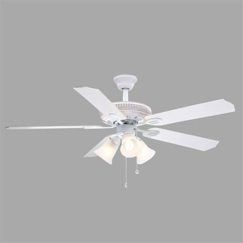 Kitchen Faucets Clearance by Hampton Bay Glendale 52 In White Ceiling Fan Ag524 Wh