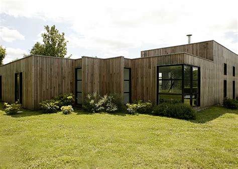 maison contemporaine 224 ossature bois maison coste