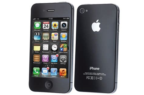 apple iphone  gb smartphone cricket wireless black mint condition  cell phones