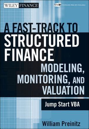the financial modellers vba compendium 1 books wiley a fast track to structured finance modeling