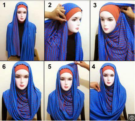 tutorial jilbab hias 4 cara memakai jilbab sehari hari praktis sederhana