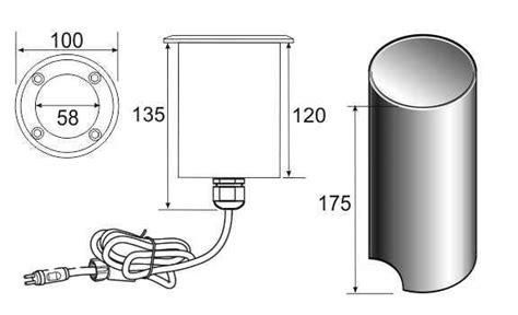 Lu Led Panel 18w 18watt 18 Watt 18 W List Kaca Glass Bulat ultraluxx rgb 18 watt add on led deck light water garden uk