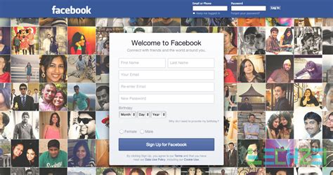 fb new login new facebook login page appears again