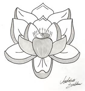 Simple Lotus Drawing Simple Lotus By Xionkid On Deviantart