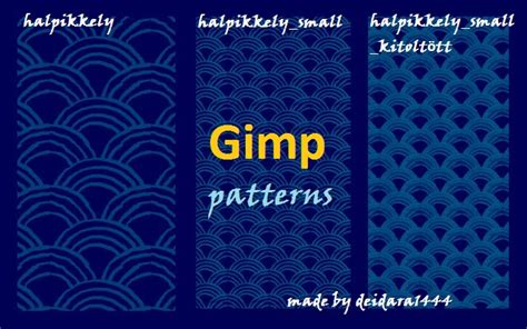pattern brush gimp halpikkely gimp patterns by deidara1444 on deviantart