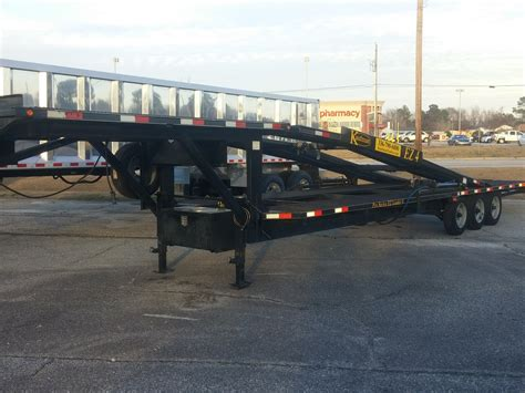 used boat trailers for sale nc used 2015 kaufman ez 4 car open car carrier trailer for