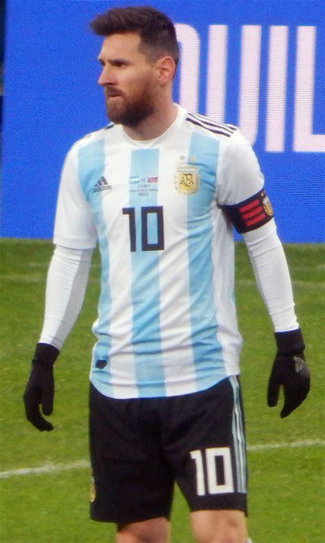Messi Argentina Lionel Messi La Enciclopedia Libre