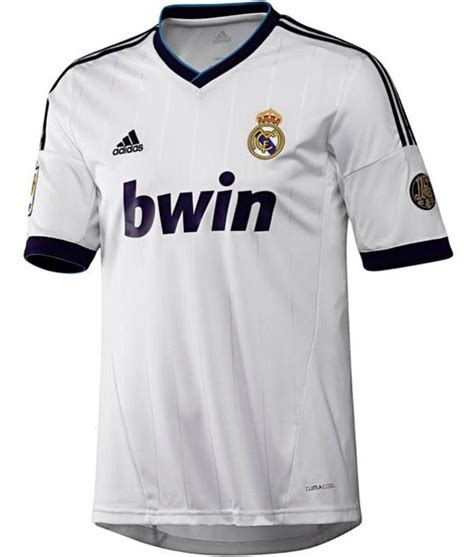 Jersey Real Madrid 12 13 Home leaked new real madrid jersey 2012 2013 real madrid home
