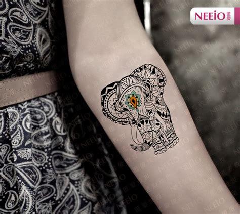 tattoo elephant vorlage m 225 s de 25 ideas incre 237 bles sobre tatuajes elefante tribal