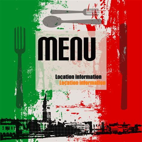 restaurant cover layout image gallery italian restaurant menu cover