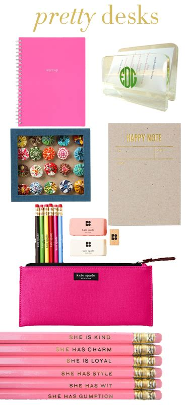 Office Supplies You Need For College College Prep Desk Accessories
