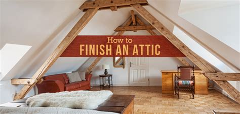 how to finish an attic into a bedroom how to finish an attic and convert it into a room budget