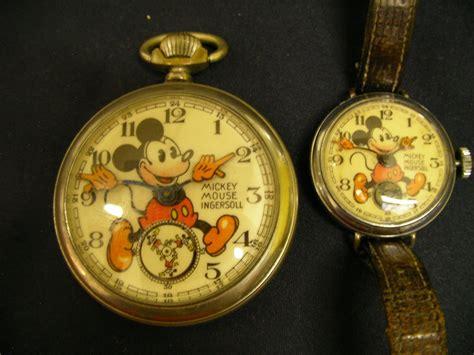 1936 mk ii mickey mouse pocket wrist