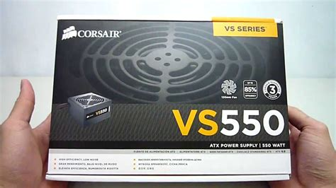 Corsair Vs Series Vs550 Psu Atx Power Supply True Gamin Terjamin corsair vs550 look unboxing maximum pcs
