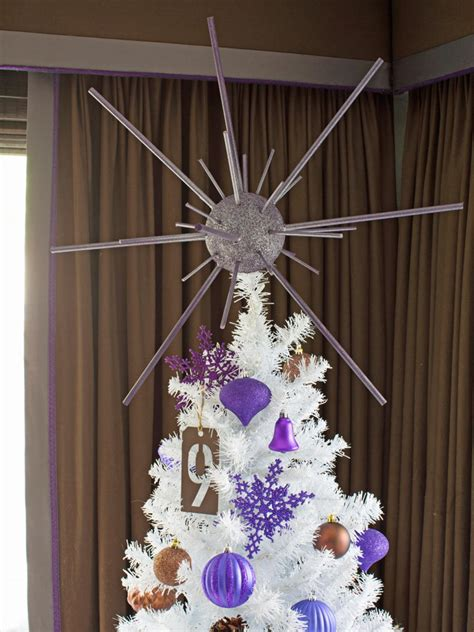 how to make a starburst christmas tree topper hgtv