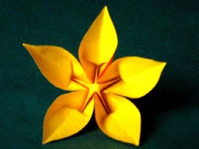 Fleur Origami - pin fleur origami scrap humour on