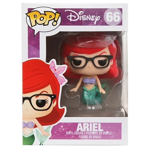 Funko Pop Disney Nerdy Glasses disney pop vinyl figure ariel topic exclusive