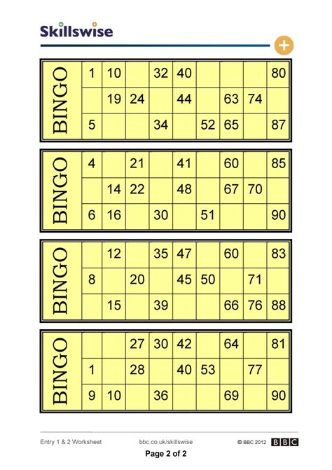 uk bingo card templates zeros on bingo cards
