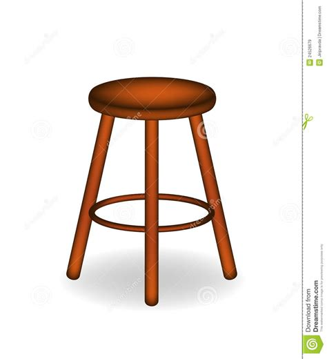 retro wooden stool retro wooden stool royalty free stock images image 24526679