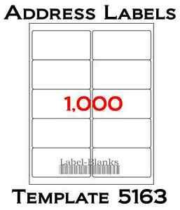 Blank Address Labels Ebay Free Mailing Labels Template 2