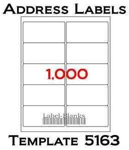 Blank Address Labels Ebay Ce Label Template